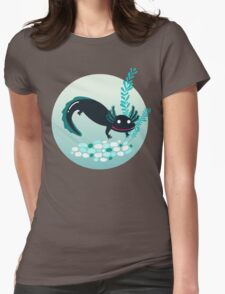 A lotl axolotl Womens Fitted T-Shirt