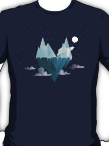 Low Poly Polar Bear T-Shirt