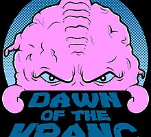 Dawn of the Krang by spazzynewton