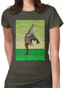 Dinosaur Aucasaurus Womens Fitted T-Shirt