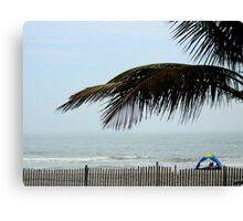 I'm in BEACH mode....... Canvas Print