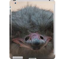 ostrich in the farm iPad Case/Skin