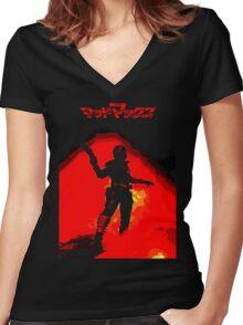 Rockatansky Women's Fitted V-Neck T-Shirt