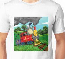 All Aboard Totoro Express! Unisex T-Shirt