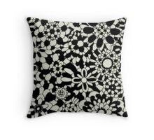 Cute Floral Pattern Item Throw Pillow