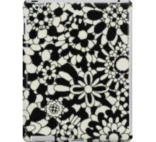Cute Floral Pattern Item iPad Case/Skin