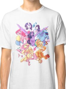 My Little Pony transparent print Classic T-Shirt