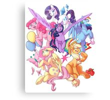 My Little Pony transparent print Canvas Print