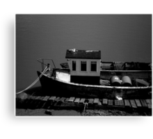 Taking a break during the journey Canvas Print