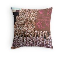 Ail Rouge Throw Pillow