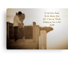 Pledge My Love to Thee Canvas Print