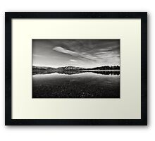 Lake Takepo Framed Print