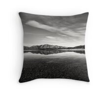 Lake Takepo Throw Pillow