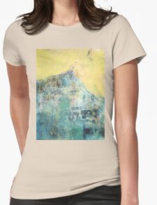 Hillside Facing the Sun Womens Fitted T-Shirt