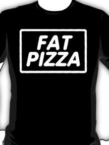 Fat Pizza - Black T-Shirt