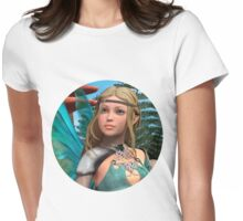 Fairy Butterfly Womens Fitted T-Shirt