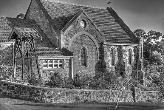 St Paul's Church, Bridgetown, WA by Elaine Teague