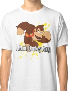 I Main Donkey Kong (DK) - Super Smash Bros. Classic T-Shirt
