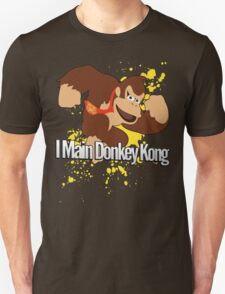 I Main Donkey Kong (DK) - Super Smash Bros. T-Shirt