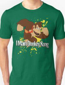 I Main Donkey Kong (DK) - Super Smash Bros. T-Shirt
