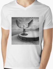 Free Will Mens V-Neck T-Shirt