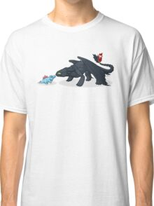 Toothless & Totodile Classic T-Shirt