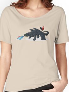 Toothless & Totodile Women's Relaxed Fit T-Shirt
