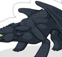 Toothless & Totodile Sticker