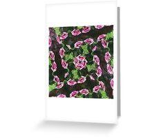 Rosas Moradas 2 Kaleidoscope 1 Greeting Card