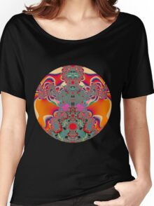 Red Meditation Women's Relaxed Fit T-Shirt
