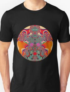 Red Meditation Unisex T-Shirt