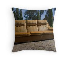 Gold Couch, Embleton Throw Pillow