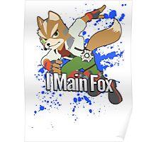 I Main Fox - Super Smash Bros. Poster