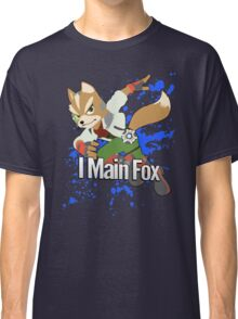 I Main Fox - Super Smash Bros. Classic T-Shirt