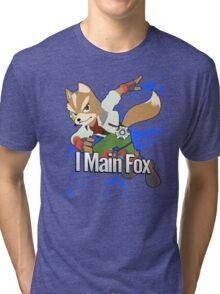 I Main Fox - Super Smash Bros. Tri-blend T-Shirt