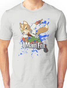 I Main Fox - Super Smash Bros. Unisex T-Shirt