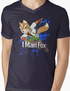 I Main Fox - Super Smash Bros. Mens V-Neck T-Shirt