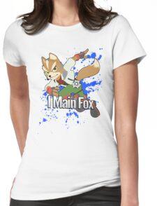 I Main Fox - Super Smash Bros. Womens Fitted T-Shirt