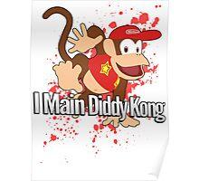 I Main Diddy Kong - Super Smash Bros. Poster