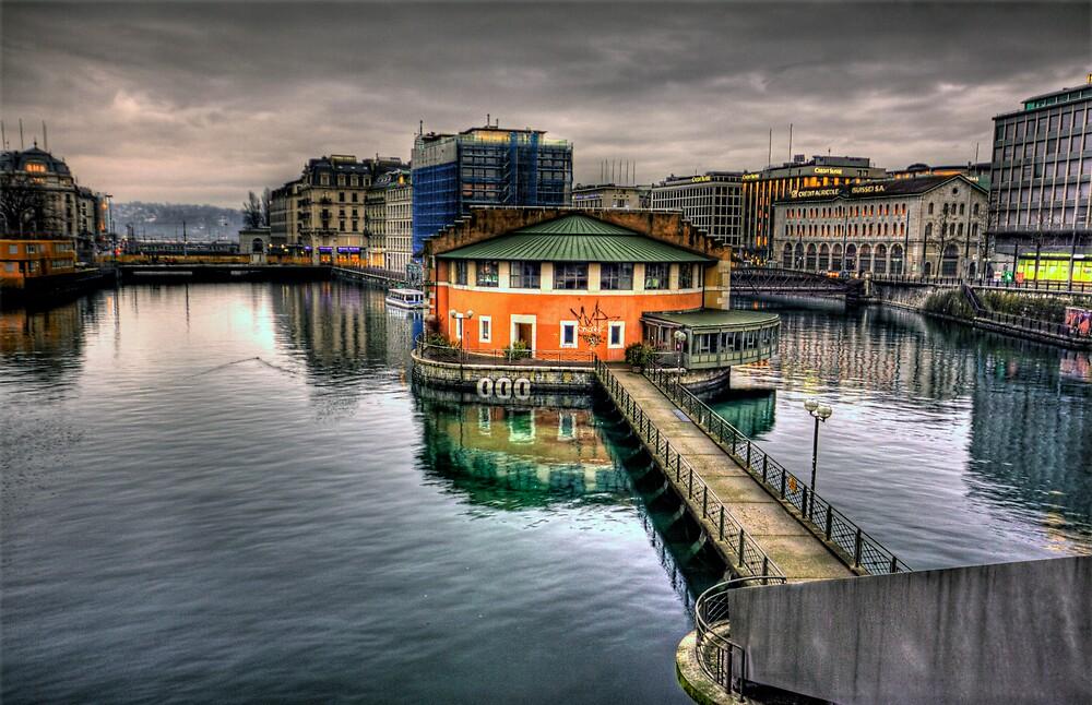 Geneva Switzerland by David Freeman