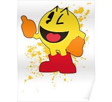 Pacman - Super Smash Bros Poster