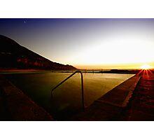 Coalcliff Pool sunrise Photographic Print