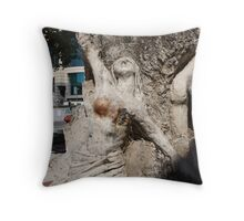 Vision from Hell, CBD Throw Pillow