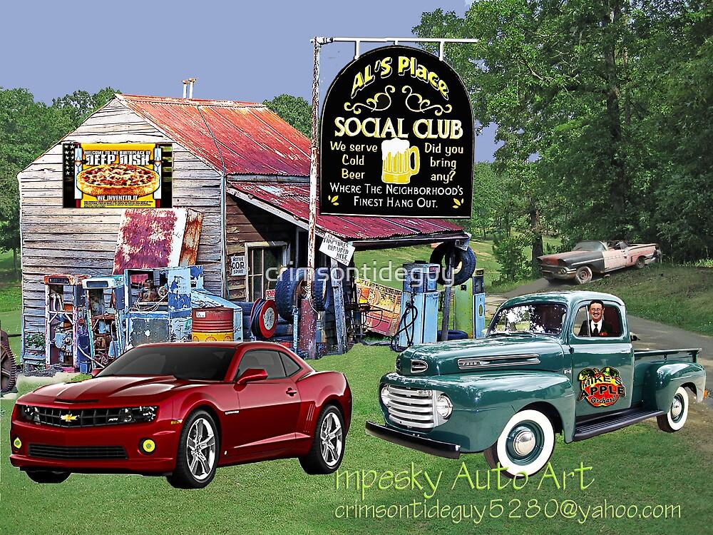 Al's Social Club by Mike Pesseackey (crimsontideguy)