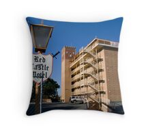 The Red Castle, Rivervale Throw Pillow