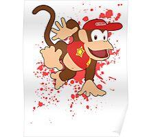 Diddy Kong- Super Smash Bros Poster