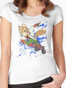 Fox - Super Smash Bros Women's Fitted Scoop T-Shirt