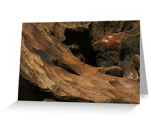 Smoothed by time ~ Dwellingup Greeting Card