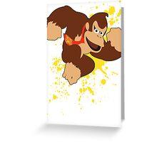 Donkey Kong (DK) - Super Smash Bros Greeting Card