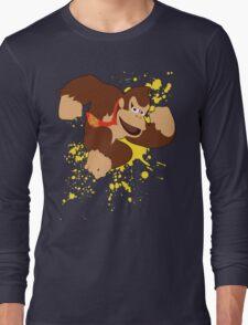 Donkey Kong (DK) - Super Smash Bros Long Sleeve T-Shirt